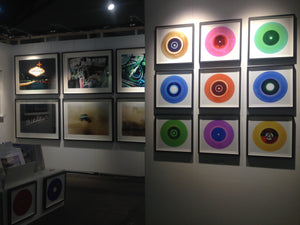 "Nine Piece ""B Side Blues"" Vinyl Installation"