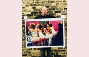 Belles of Shoreditch, 'The Whoopee Club' London was taken in 2003 when Richard Heeps became well-known for his Burlesque Photography after capturing performances in Britain & America.