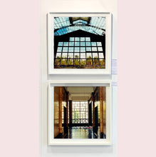 Load image into Gallery viewer, An art deco style, geometric patterned foyer, photographed by Richard Heeps in Milan.