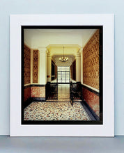 Load image into Gallery viewer, An Art Deco entrance hall in Milan, featuring stained glass panelling and marble flooring.