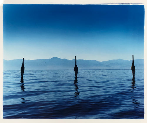 Jetty - North Shore Yacht Club II, Salton Sea, California 2003