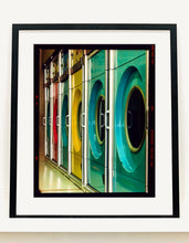 Load image into Gallery viewer, Launderette, a fantastically colourful interior taken in Richard Heeps' local area of Cambridge.