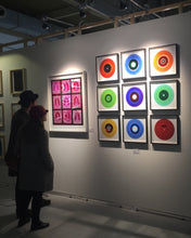 "Load image into Gallery viewer, Nine Piece ""B Side Blues"" Vinyl Installation"