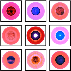 "Nine Piece ""Pop of Pink"" Vinyl Installation"