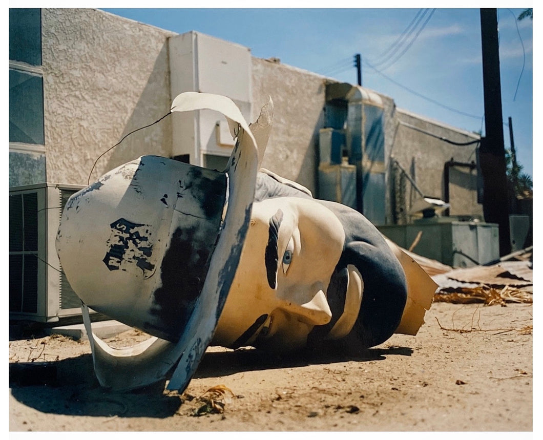 Poor Richard - Head, Salton Sea, California 2002