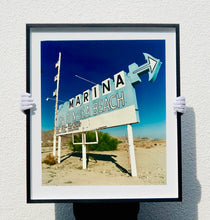 Load image into Gallery viewer, Marina Sign I, Salton Sea Beach, Salton Sea, California, 2003