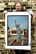 Load image into Gallery viewer, July IV, a statue of Liberty in a rural town on the Suffolk/Norfolk border. In the area where Richard grew up there were a lot of Americanisms.