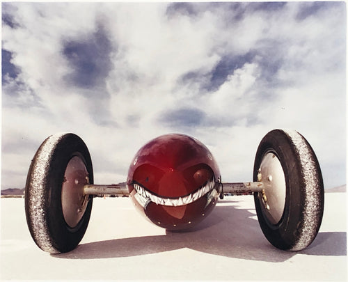 The Rochlitzer's Raspberry Rocket (front), Bonneville, Utah, 2003