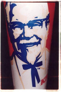 KFC Cup II (detail), Leicester Square, London 2004