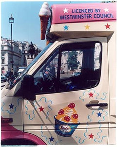 Ice Cream Van II, Haymarket, London 2004