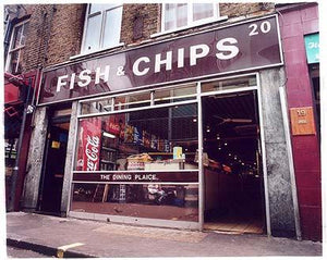 Fish & Chips - Berwick Str Market, Soho, London 2004