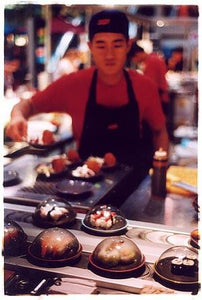 Yo! Sushi, Paddington Station, London 2004