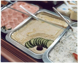 Houmous - King's Kebab House, Earls Court, London 2004