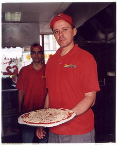 Mario III - Snappy Tomato Pizza, Earls Court, London 2004