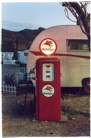 Mobil Gas - Dot's Diner, Bisbee, Arizona 2001