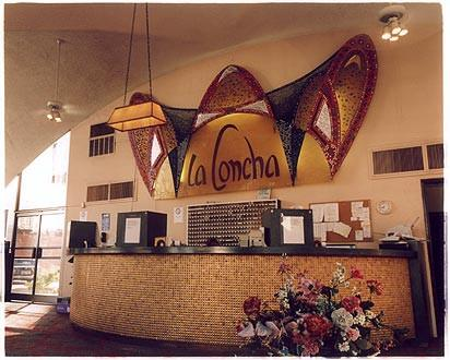Reception - La Concha Motel, Las Vegas 2000