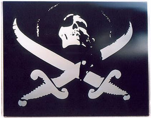 Pirate decal, A-Bombers, Sweden 2004