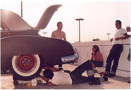 Car repair, Las Vegas 2000
