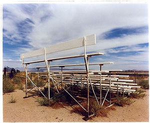 Grand stand, Inyokern Dragstrip, California 2003