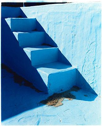 Steps II - Zzyzx Resort Pool, Soda Dry Lake, California 2002