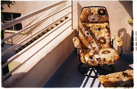 Lounger, Ballantines Movie Colony, California 2002