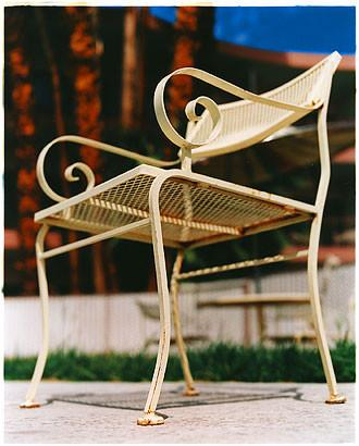 Chair - El Morocco Pool, Las Vegas 2001