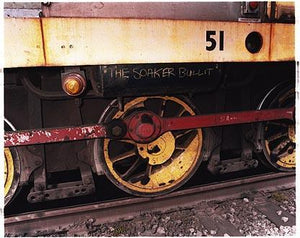 Locomotive 51 - 'Soaker Bullit', Bloom&Billet Mill, Scunthorpe 2007