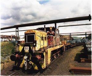 Locomotive Operator, Bloom&Billet Mill, Scunthorpe 2007