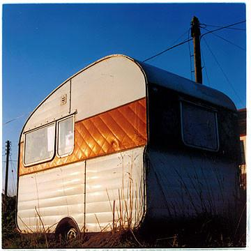 Caravan, Happisburgh, Norfolk 2003