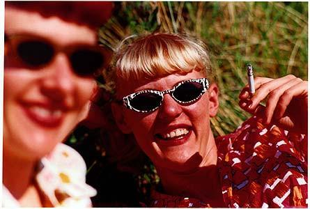 Charlotte & Lisa, Norfolk 2000