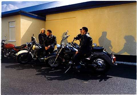 Bikers, Hemsby, Norfolk 1999