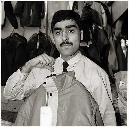 Clothes Stall, Warrington Indoor Market 1987