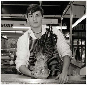 Butcher, Warrington Indoor Market 1987