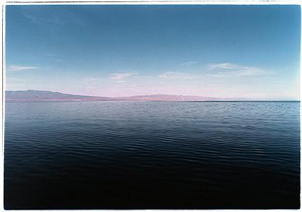 View from Desert Shores II, Salton Sea, California 2002