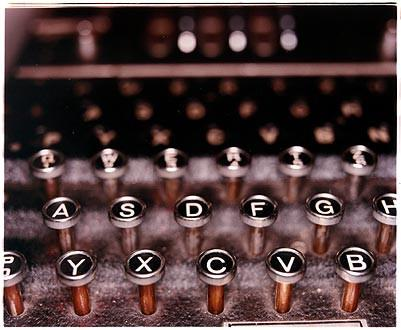 The Enigma Machine, Bletchley Park 2003