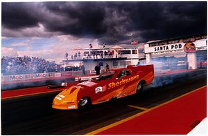 Gordon Smith - Shockwave, European Finals, Santa Pod 1998