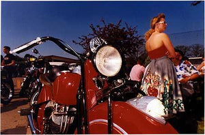 Indian & girl, Norfolk 1998