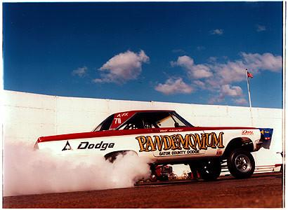Daz's - 'Pandemonium', Hot Rod Drags, Shakespeare County Raceway 2001