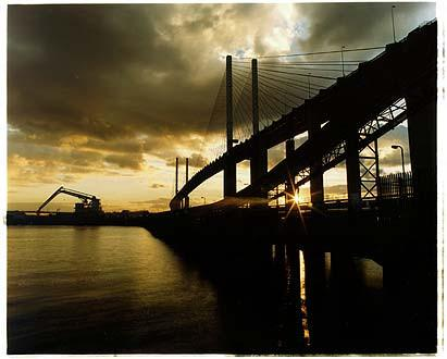 QE II Bridge/Lafarge Jetty, West Thurrock 2004