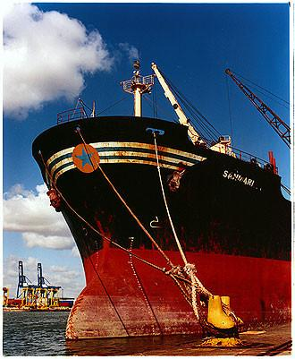Berthed Ship, Port of Tilbury 2003