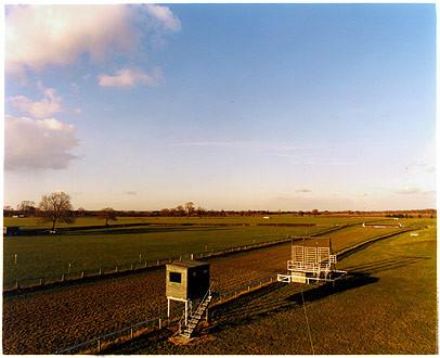 Racecourse from Grandstand, Cottenham, Cambridgeshire 2003