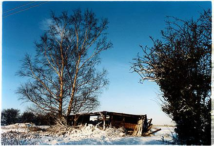 Oakington Road, Derelict Shed, Cottenham, Cambridgeshire 2003