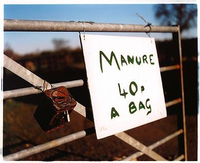 Broad Lane Manure 40p, Cottenham, Cambridgeshire 2002