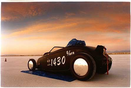 Jim Jard - '32 Roadster (dawn), Bonneville, Utah 2003