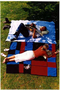 Couple on blanket, Norfolk 2000