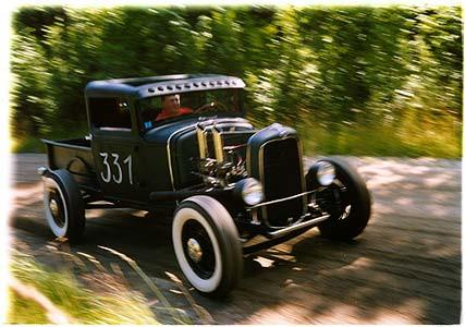 Model B Pick up - Hillclimb, Sweden 2004