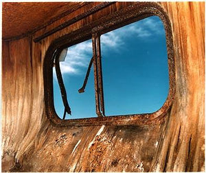 Trailer Window, Bombay Beach, Salton Sea, California 2003