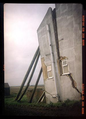 Subsidence, Ten Mile Bank, Cambridgeshire 1993