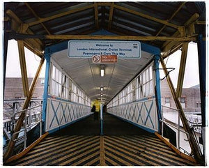 Welcome to London International Cruise Terminal, Port of Tilbury 2004
