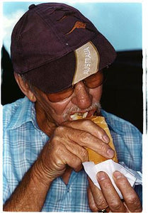 Mike - Hot Dog Stand, The British Museum, London 2004